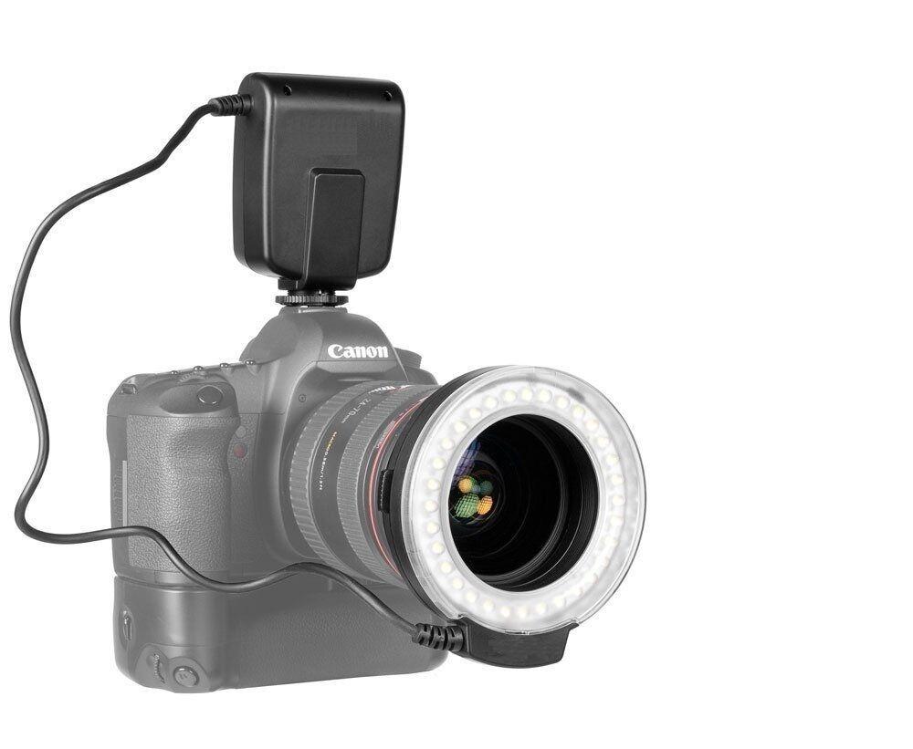 For Canon Eos Digital Rebel Macro Ring Flash Light For 72...