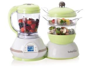 Used Babymoov Nutribaby - 5 in 1 Baby Food Maker Condition: Used, with Steam Cooker, Blend  Puree, Warmer, Defroster,...