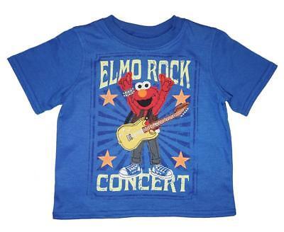 Sesame Street Toddler Boys Elmo Rock Concert Top Size 2T 3T 4T