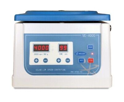 New Velab Pro-4000 Digital Low Speed Clinical Tabletop Centrifuge