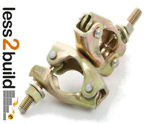 Scaffolding Scaffolding Pressed Swivel Couplers Coupler Clamps Parts Fittings