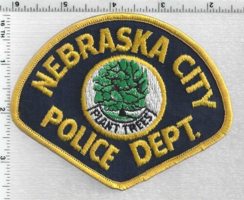 Nebraska City Police (Nebraska) 2nd Issue Shoulder Patch