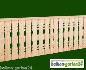 Holzbalkon Bausatz Balkongeländer Balkon Holz Balkonbretter Berchtesgaden