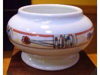 Glen cairn, Rennie Mackintosh style Porcelain bowl
