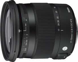 Sigma 17-70mm f/2.8-4 DC OS HSM for Canon