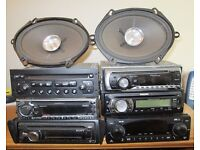 Job Lot Of Car Radio/Cd Players WILL SPLIT