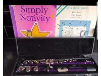 Purple flute