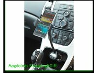 3 in 1 FM Transmitter/Smart Phone Holder