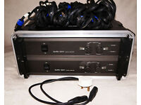 Quad 520F Neutrix Professional 2-channel amplifiers.
