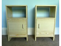 Two Bedside Cabinets / Bedside Tables