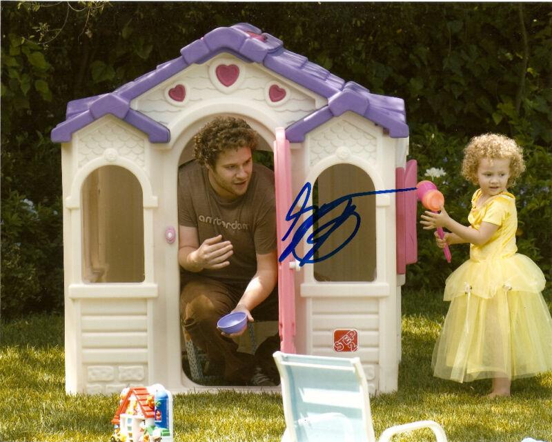 Knocked Up Seth Rogen Signed Autographed 8x10 COA