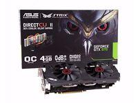 ASUS GTX 970 STRIX OC Gaming Graphics Card 4GB