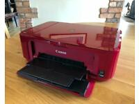 Canon Pixma MG3550 AirPrint Wi-Fi Printer - Red