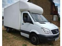 24/7 CHEAP MAN AND VAN HOUSE REMOVALS MOVERS MOVING LUTON VAN HIRE 2-3 MEN CAR BIKE RECOVERY