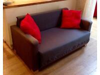 IKEA 'Ullvi' Small Two Seat Sofa Bed