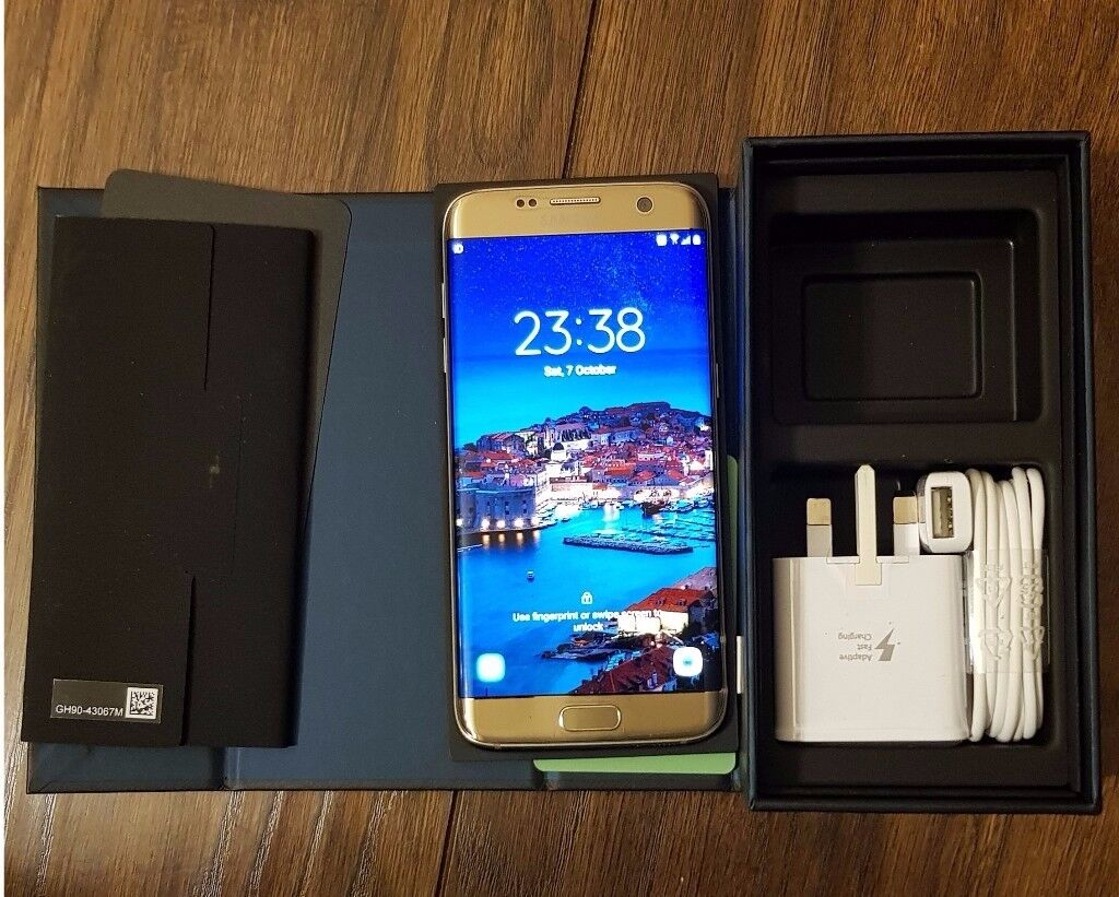 Samsung Galaxy S7 Edge Duos SM-G935FD - 32GB - Gold Unlocked - Warranty