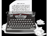 Freelance secretarial, typing and administration service. Work accepted from anywhere in the world!