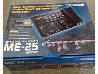 Boss ME25 Guitar Multiple Effects Pedal