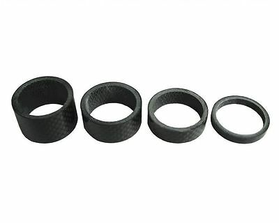 "Free shipping Full Carbon 3K Headset/Stem Spacers 1-1/8"" 5/10/15/20mm"
