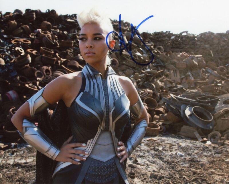 "Alexandra Shipp ""X-Men: Apocalypse"" AUTOGRAPH Signed 8x10 Photo C ACOA"