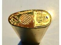 Gold Plated John Sterling colibri' lighter quarzo. £ 25. Free P&P