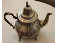 Large Moroccan Metal Tea Pot