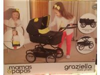 Mamas and Papas Dolls Pram. The box has never been opened so Pram is brand new. £35 ono