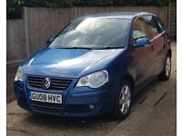 2008 Volkswagen (VM) Polo 1.4 Match 5dr Petrol Blue Manual