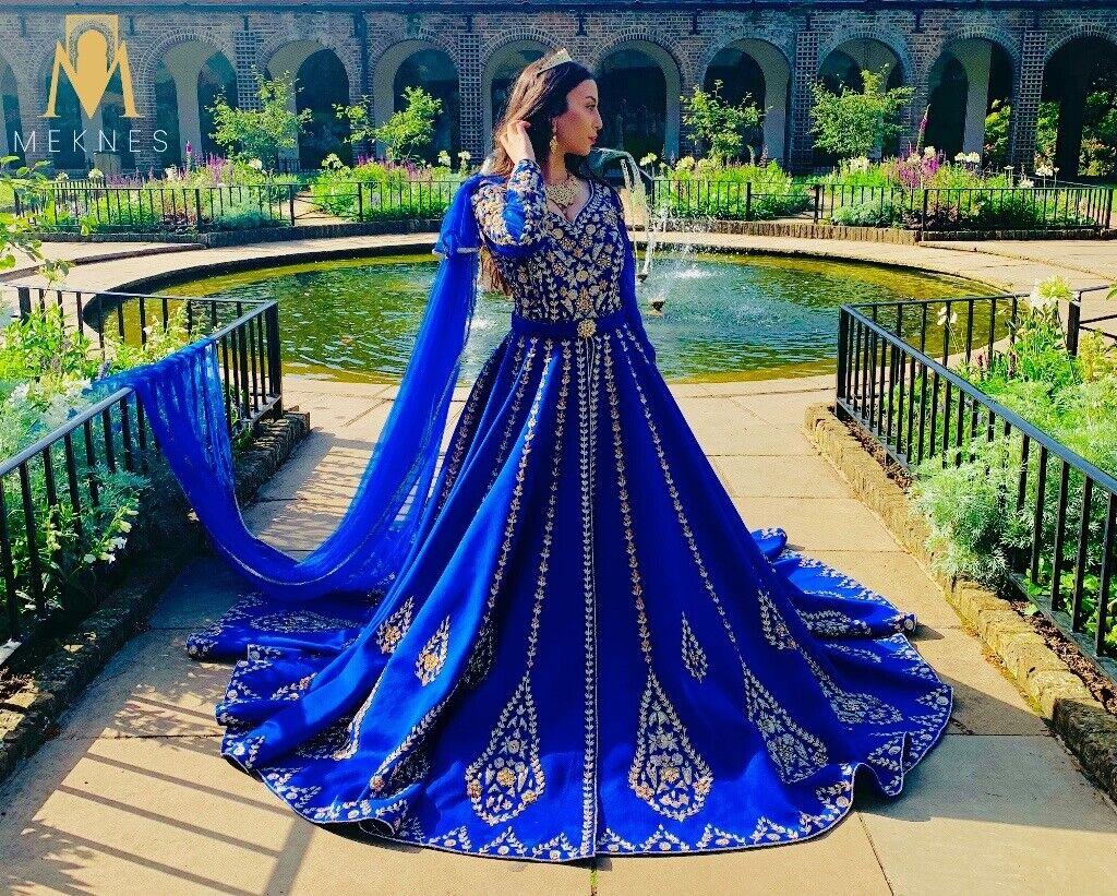 Meknes London Ziana Negafa Luxe Bridal Caftans Moroccan Weddings
