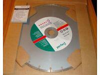 "4x Dronco Universal Perfect ST 14"" dry cutting diamond blades ( 350 x 25.4mm )"