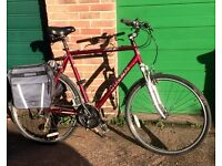 LARGE 25 INCH FRAME 7.2-FX HYBRID/TOURING BIKE. MANY EXTRAS. EXCELLENT CONDITION