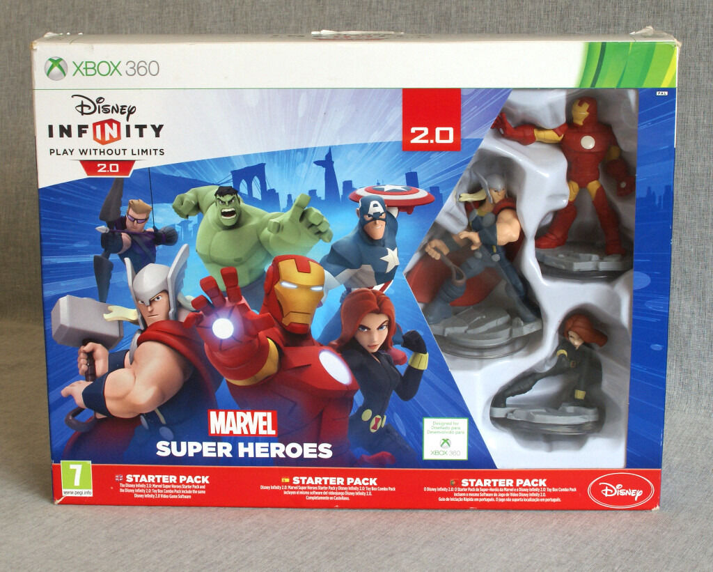 Xbox 360 Disney Infinity 2.0, CD & Game Guide