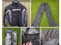 Ladies bike jacket & trousers