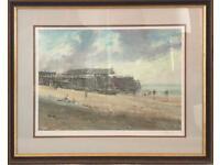 Matthew Alexander Limited Framed print of Viking Bay Broadstairs