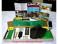 Linka Brick and Stone HO/OO Model Building System for making scale model buildings for Hornby etc