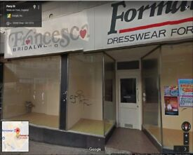 Retail Shop To Let! Located in Hanley, Stoke-on-Trent. Available Immediately.