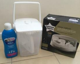Microwave and cold water sterilisers - great condition