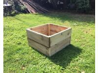 Large rustic garden planter/trough
