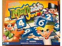 MATHABLE JUNIOR CROSS NUMBER GAME by Wooky Entertainment. Complete And VGC.
