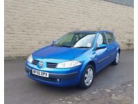 RENAULT MEGANNE 1.4 PANORAMIC SUNROOF LOW WARRANTED MILES 12 MONTHS MOT 1 MONTH FREE WAARANTY