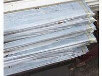 🏠 New Black Fascia Boards ~ 150mm X 16mm X 5m