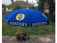 Pub Garden Umbrellas - Fosters - John Smiths - Etc