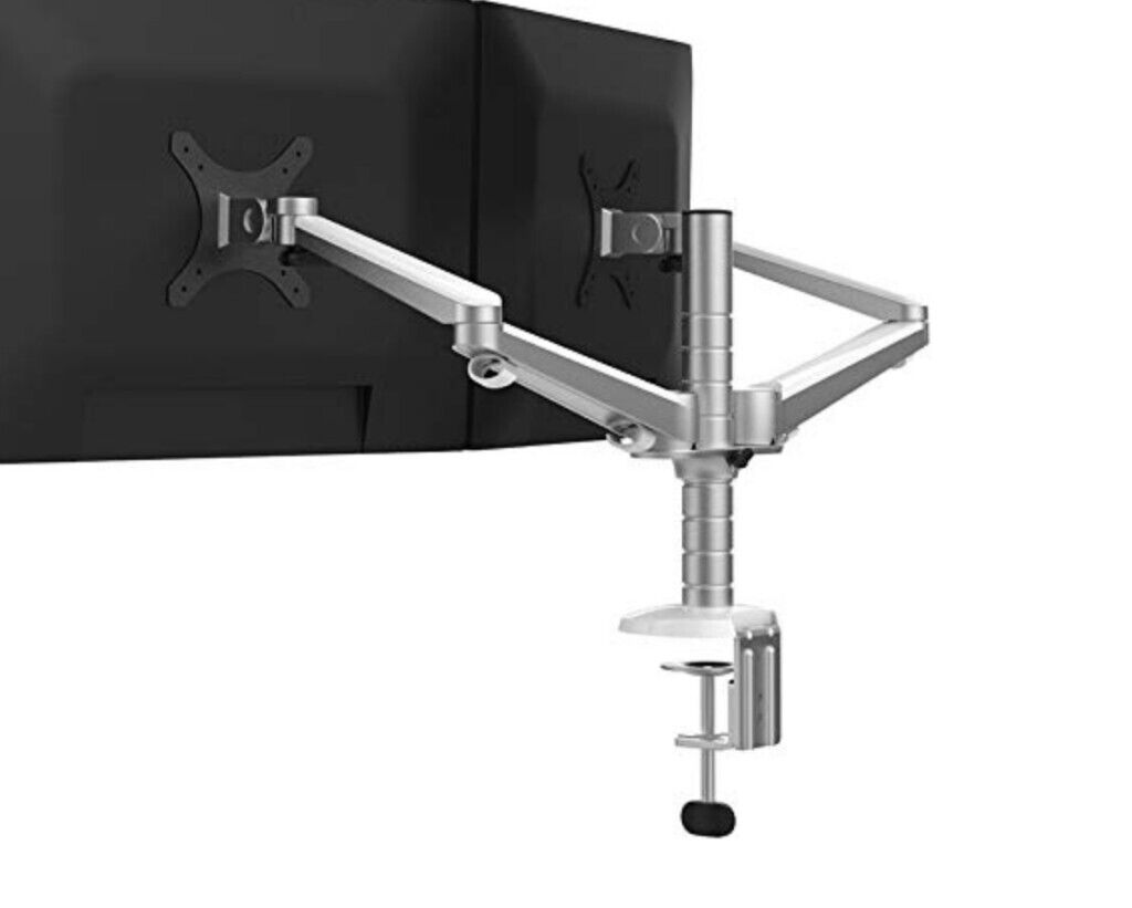 Peachy Adjustable Aluminium Universal Computer Monitor Stand Desk Mount Bracket Clamp In Richmond London Gumtree Home Interior And Landscaping Mentranervesignezvosmurscom
