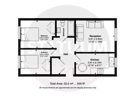 New Build First Floor 2 bed Flat - Ilford, IG1
