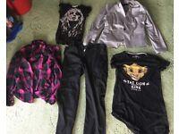 Clothes joblot bootsale items