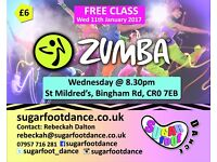 Zumba Dance Class, Addiscombe (all ages and abilities welcome)