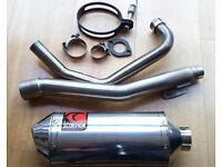 SCORPION STAINLESS STEEL EXHAUST SYSTEM FOR A HONDA CBF125