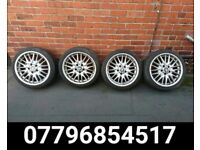18 inch Bmw MV1 Alloy Wheels and Tyres - e36 e46 e60 330 M6 Mv2 m3 mv3 325 bmw alloys 1 series