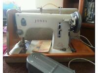 Jones Sewing Machine - Spares or Repairs