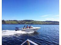 Stunning fletcher speed boat 15ft ( not bayliner , maxum, jet ski or rib)